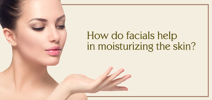 woman with moisturized skin after facial
